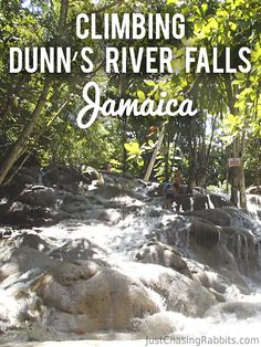 Climbing the Gorgeous (but Crowded) Dunn's River Falls in Jamaica