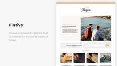 15+ Free Minimalist WordPress Themes and Templates for Blogs of 2020 Minimalist Wordpress Themes, Wordpress Free, Coast, Templates, Beach, Blog, Beautiful, Design, Stencils
