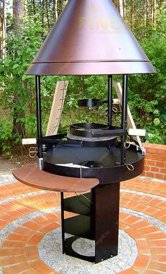 Old Stove, New Deck, Grill Design, Oven Cooking, Outdoor Living, Outdoor Decor, Smokers, Bbq Grill, Backyard