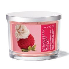 Notes of strawberries, whipped cream, red berry melange and creamy, milk-silky musk. Regularly $9.99, buy Avon Home products online at http://eseagren.avonrepresentative.com
