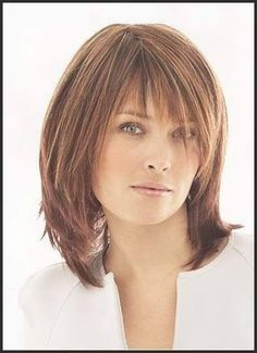 Frisuren Mittellang Für Frauen Ab 50 – Hairstyle For Medium Length Hair Medium Long Hair, Medium Hair Cuts, Short Hair Cuts, Shoulder Length Hair Cuts With Bangs, Hairstyles For Shoulder Length, Short Length Hairstyles, Layered Haircuts Shoulder Length, Easy Hair Cuts, Long Curly