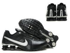 Nike Shox Black   Silver For Wholesale 531790640