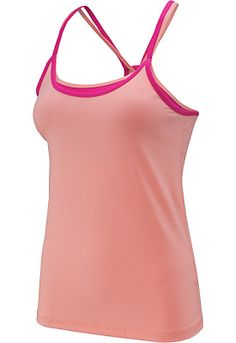 Workout style has never looked as good as this ROXY® women's Perfect Pair tank, which combines a soft cami with a supportive built-in bra.