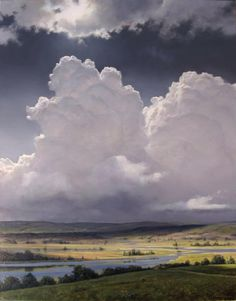 Stunning cloud painting