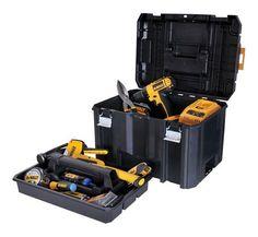 Deep Box Portable Tool Box Jobsite Storage Weather Seal DEWALT TSTAK VI 17 in