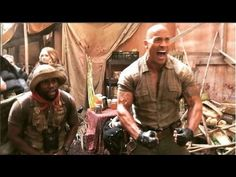 Watch Dwayne Johnson And Kevin Hart New Video On Set Of Jumanji