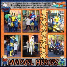Marvel Heroes  -  Islands of Adventure (Universal) - MouseScrappers.com