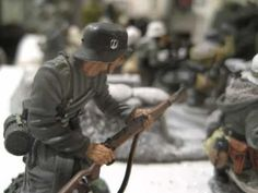 Battle of the Bulge...These are more than Toy Soldiers...They tell a story.    Check it out