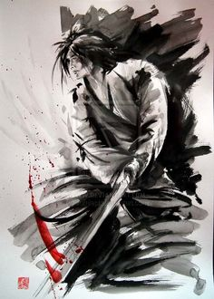 Samurai - all or nothing. by ~sumiepl