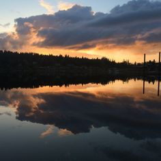 Wollochet Bay in Washington