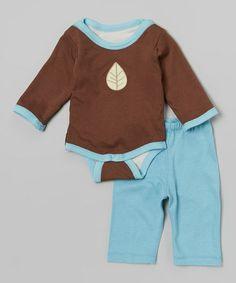 Brown Leaf Reversible Bodysuit & Pants by Turnovers, Inc. (35$ 12fev2014)