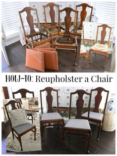 How to reupholster c