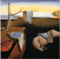 "Salvadore Dali-love his famous ""melting clocks""."