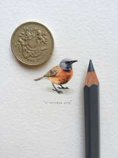 A Miniature Painting a Day by Lorraine Loots | Yatzer