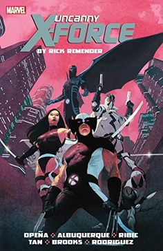Uncanny X-Force by Rick Remender: The Complete Collection Volume 1 by Rick Remender http://www.amazon.com/dp/0785188231/ref=cm_sw_r_pi_dp_oCnOvb1B7S68B