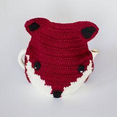 handmade crochet fox tea cosy by eka | notonthehighstreet.com