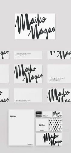 branding design by Maiko Nagao
