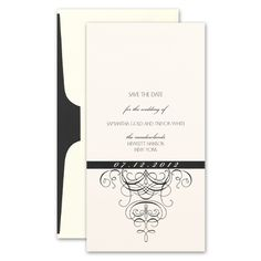 Allure Sophisticated And Elegant These Gorgeous Cream Save The Date Cards Feature