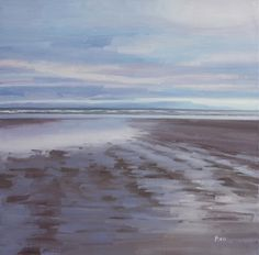 An artist in Troon, Ayrshire, Scotland. Paints landscapes and seascapes, from woodlands to shorelines. Thumbnail gallery of his paintings. Abstract Landscape, Landscape Paintings, Abstract Art, Beach Scenes, North Shore, Seas, Felting, Beaches, Woodland
