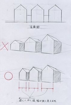 Perspective Drawing Lessons, Perspective Sketch, One Point Perspective Room, Basic Drawing, Technical Drawing, Drawing Tips, Architecture Concept Drawings, Architecture Sketchbook, Drawing Interior