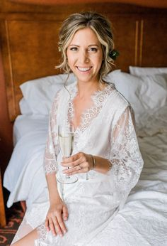 Bridal Shower Gifts For Bride, Bridal Party Robes, Bride Gifts, Bridal Robes Getting Ready, Getting Ready Wedding, Lace Bridesmaids, Bridesmaid Robes, Lace Bridal Robe, Lace Wedding