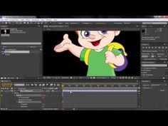 Adobe After Effects CC Tutorial   Recording A Puppet Pin Tool Motion - YouTube