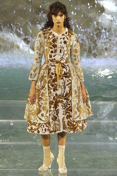 Fendi Fall 2016 Couture Fashion Show - Mica Arganaraz