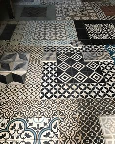 "223 Likes, 7 Comments - Antique and Encaustic Tiles (@jatanainteriors) on Instagram: ""Watch your step! #showroom #encaustictiles #handmadetiles #antiquetiles #tiles #cementtiles…"""