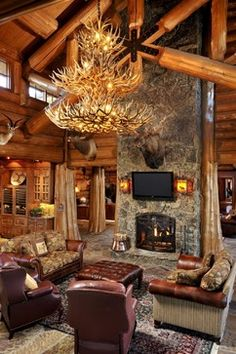 interior design boise idaho - Summit Log & imber Homes's Design Ideas, Pictures, emodel, and ...