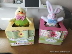Chantilly paper Easter Boxes