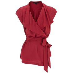 Red Reenes Blouse ~ Gorgeous red blouse