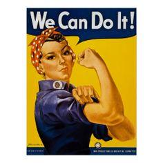Rosie der Nieteneinschläger können wir ihn tun!  V Posterdrucke