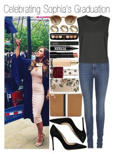 """• Celebrating Sophia's Graduation"" by dianasf ❤ liked on Polyvore featuring Clare V., Yves Saint Laurent, Gianvito Rossi, Ray-Ban, ASOS, Casetify, Marc Jacobs, NARS Cosmetics, Bobbi Brown Cosmetics and Ardency Inn"