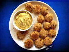 Polpettine vegan di ceci al rosmarino senza glutine, non fritte, ottime per onnivori. Chickpea vegan meatballs with rosmary