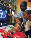 The Ann Arbor Hands On Museum is a great place to take your family on a rainy day!  There's lots of stuff to keep little (and big) hands busy, and your membership gets you into other hands-on museums around the country.