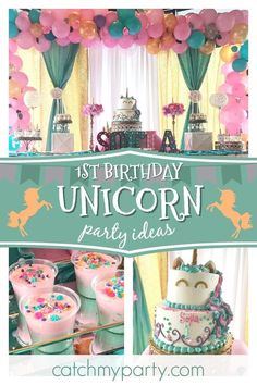 589 best unicorn birthday party ideas images on pinterest in 2018