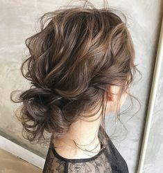 Party Hairstyles, Cute Hairstyles, Wedding Hairstyles, Hair Arrange, Hair Setting, Wedding Goals, Bridesmaid Hair, Hair Looks, Bridal Hair