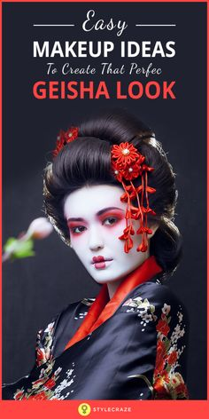 Geishas have always been mysterious, yet extremely pretty. What they really do is always quite misunderstood, but there is no doubt about the trail of awe and enticement that they leave behind them. Let's take a look at all there is to know about the Geisha makeup.