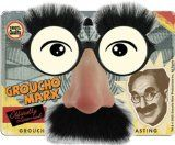 Amazon.com: Kyra Groucho Marx Costume Nose Mustache Funny Glasses in Black: Clothing