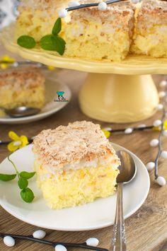 Custard Cake, Polish Recipes, Cornbread, Vanilla Cake, Ale, Cooking Recipes, Sweets, Ethnic Recipes, Food