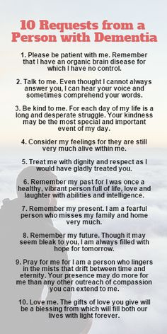 10 request from a person with dementia Dementia Awareness, Dementia Care, Alzheimer's And Dementia, Stages Of Dementia, Alzheimers Poem, Dementia Quotes, Dealing With Dementia, Wisdom Quotes, Life Quotes
