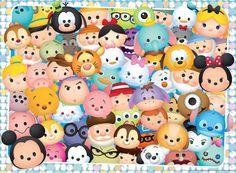 Disney Tsum Tsum (1500×1106) cartoons