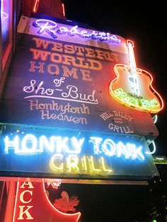 Robert's Western World - Nashville, TN. I've heard that it's changed. Probably so, but for years, this was the best place to be on a a Friday or Saturday night!