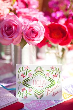 Mexican inspired bridal shower.