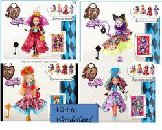 Claudette Violetta: Muñecas Wat to Wonderland