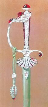 For decades the leading designers of French Academicians' swords, the Parisian jewellery house of Chaumet also ventured, in the 20th Century, into designing swords for Indian princes