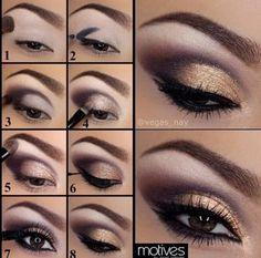 Eye Make up ideas. Gorgeous Makeup, Pretty Makeup, Love Makeup, Makeup Inspo, Makeup Inspiration, Black Makeup, Daily Makeup, Makeup Goals, Makeup Tips