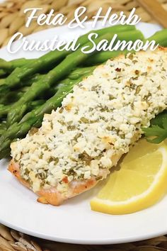 Salmon is the perfect thing to cook on busy evenings. This yummy recipe is ready in just 20 minutes and is loaded with flavor thanks to lots of feta and herbs! Easy Salmon Recipes, Simple Recipes, Summer Recipes, Seafood Recipes, Nutritious Snacks, Healthy Foods, Healthy Recipes, Cooking Videos, Cooking Recipes