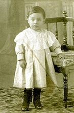 """Pablo Neruda as a child. """"I don't love you as if you were the salt-rose, topaz  or arrow of carnations that propagate fire:  I love you as certain dark things are loved,  secretly, between the shadow and the soul.""""  ― Pablo Neruda"""