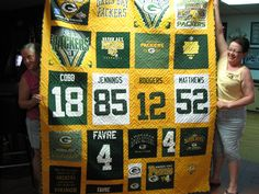 volleyball quilt pattern | The Coolest Green Bay Packers Quilt Ever | dariencornfest.us